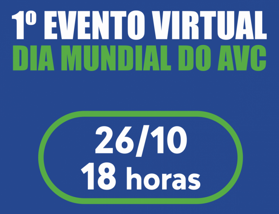 1° EVENTO MUNDIAL DO AVC- 2020