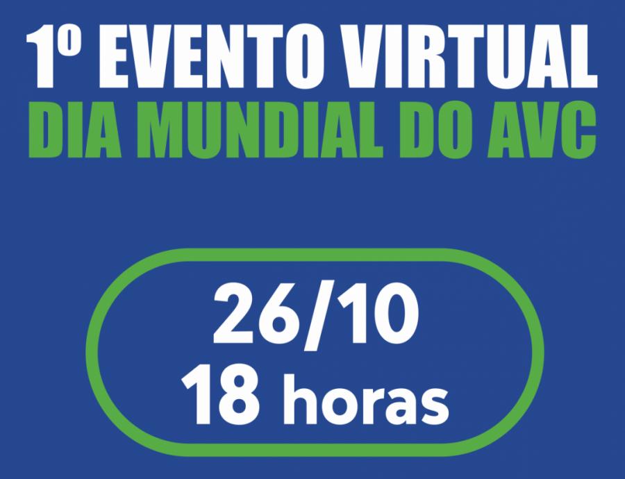 1° EVENTO MUNDIAL DO AVC- 2020
